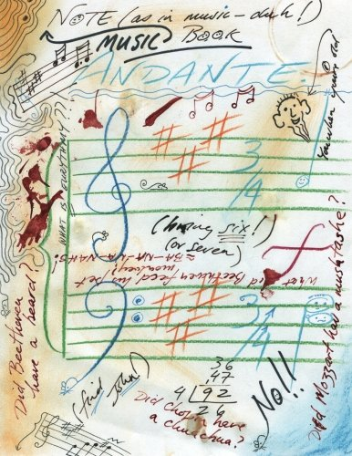9781470079949: Music Note-Book: ~ not for the faint of heart.