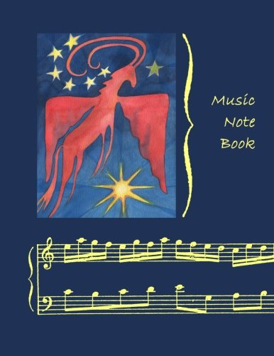 9781470086848: Music Notebook: Pegasus #1 ~ 11-Stave (both pages lined)