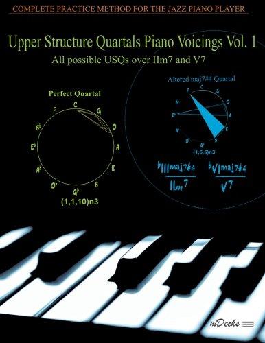 9781470091279: Upper Structure Quartals Piano Voicings Vol. 1 (Volume 1)