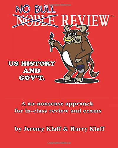 9781470095390: No Bull Review - U.S. History and Gov't