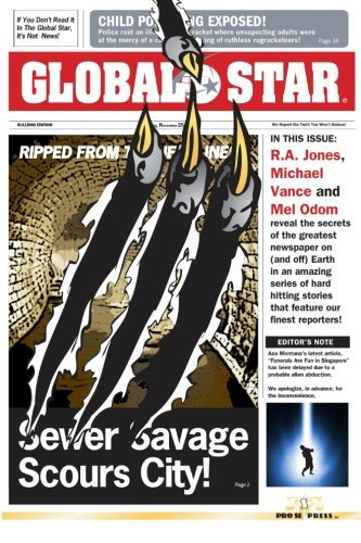 Global Star (1470098458) by R. A. Jones; Michael Vance; Mel Odom