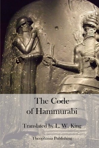 9781470100896: The Code of Hammurabi