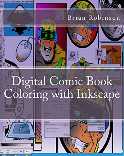 9781470120214: Digital Comic Book Coloring with Inkscape