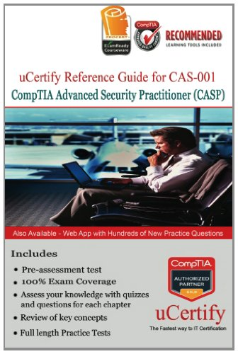 9781470140526: uCertify Reference Guide for CompTIA Advance Security Professional (CASP)