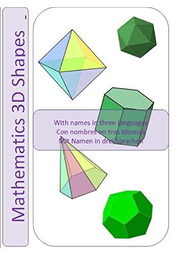 9781470141790: Mathematical 3D Shapes