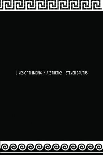 9781470167035: Lines of Thinking in Aesthetics