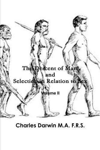 9781470169671: The Descent of Man, and Selection in Relation to Sex (Volume 2)