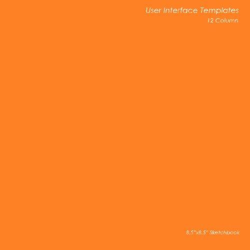 9781470188498: User Interface Templates: 12 Column: 8.5