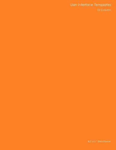 9781470188504: User Interface Templates: 12 Column: 8.5