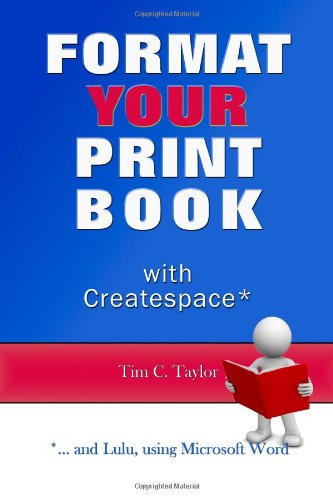 9781470192037: Format YOUR Print Book with Createspace
