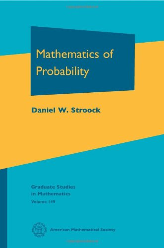 9781470409074: Mathematics of Probability (Graduate Studies in Mathematics)