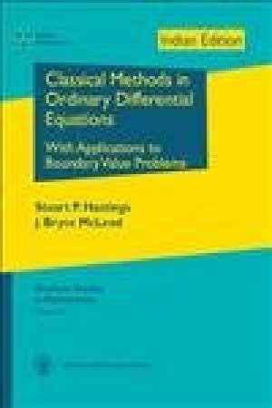 9781470409241: Classical Methods in Ordinary Differential Equations: With Applications to Boundary Value Problems