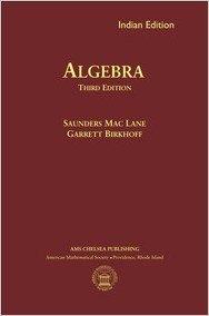 9781470409333: Algebra