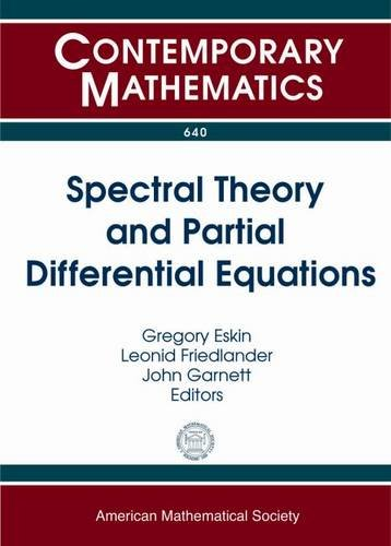 Spectral Theory and Partial Differential Equations (Contemporary: Amer Mathematical Society