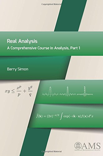 9781470410995: Real Analysis: A Comprehensive Course in Analysis, Part 1