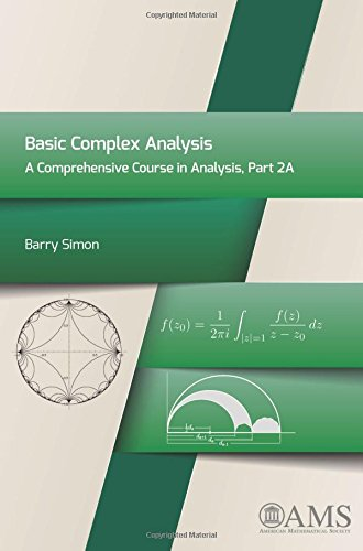 9781470411008: Basic Complex Analysis: A Comprehensive Course in Analysis, Part 2A
