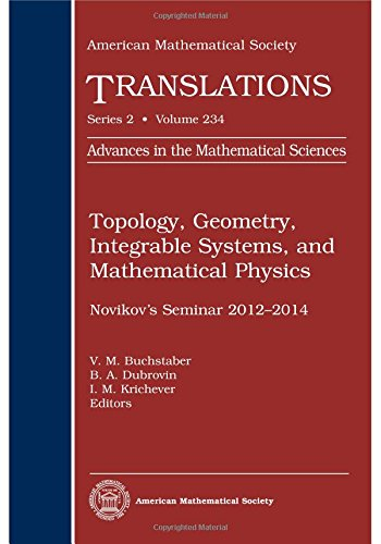 Topology, Geometry, Integrable Systems, and Mathematical Physics: American Mathematical Society