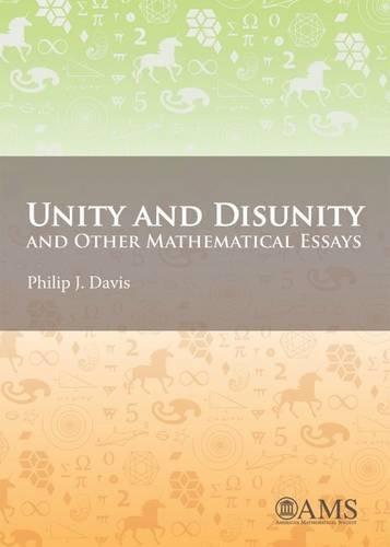 9781470420239: Unity and Disunity and Other Mathematical Essays