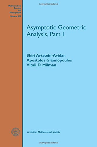 9781470421939: Asymptotic Geometric Analysis