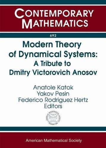 Modern Theory of Dynamical Systems: A Tribute: Amer Mathematical Society