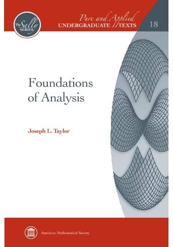 9781470425791: Foundations Of Analysis