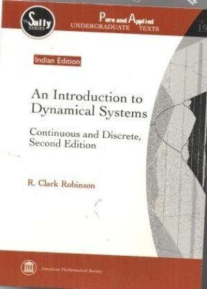 9781470425807: An Introduction To Dynamical Systems: Continuous And Discrete, 2Nd Edition