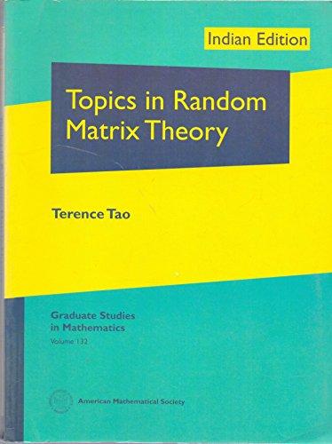 9781470425821: Topics In Random Matrix Theory