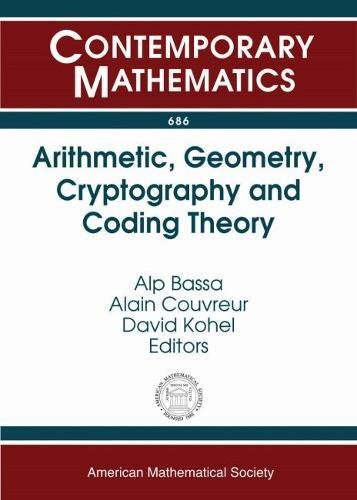 Arithmetic, Geometry, Cryptography and Coding Theory (Contemporary: Amer Mathematical Society