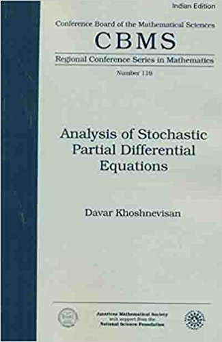 9781470437251: Analysis Of Stochastic Partial Differential Equations