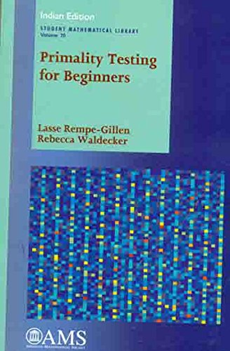 9781470438425: Primality Testing For Beginners