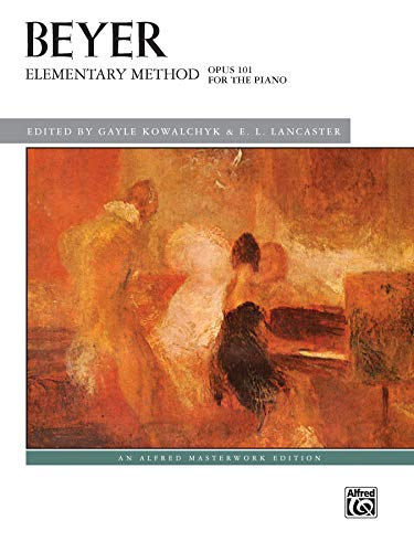 9781470610630: Elementary Method for the Piano, Op. 101 (Alfred Masterwork Edition)