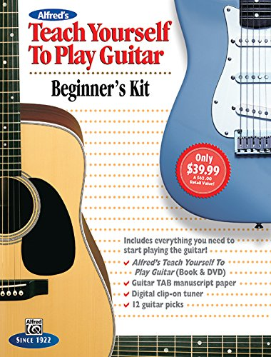 9781470611293: Alfred's Teach Yourself to Play Guitar: Everything You Need to Know to Start Playing the Guitar!, Boxed Set (Starter Pack) (Teach Yourself Series)