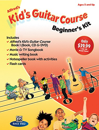 9781470611309: Alfred's Kid's Guitar Course 1: The Easiest Guitar Method Ever!, Boxed Set (Starter Pack)