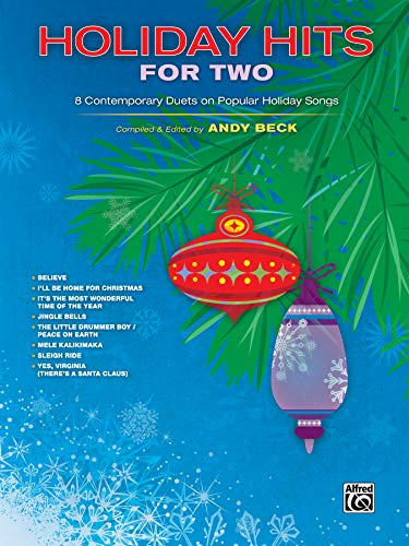 9781470611569: Holiday Hits for Two: 8 Contemporary Duets on Popular Holiday Songs (For Two Series)