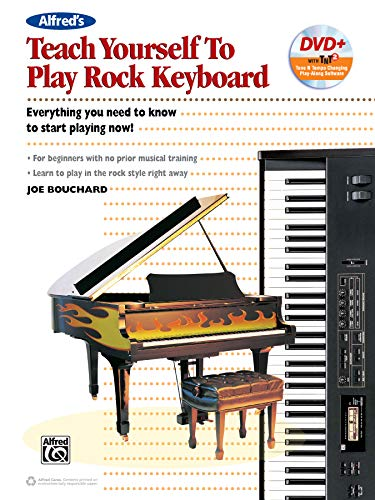 9781470614249: Alfred's Teach Yourself to Play Rock Keyboard: Everything You Need to Know to Start Playing Now!, Book & DVD-ROM (Teach Yourself Series)