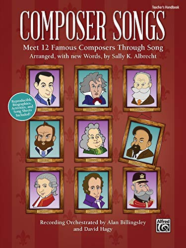 9781470614492: Composer Songs: Meet 12 Famous Composers Through Song Biographies and Activities Included