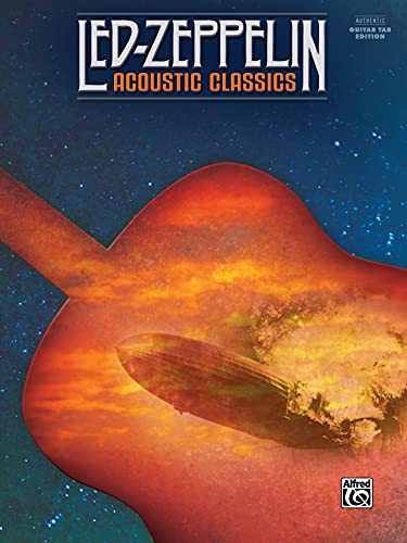 9781470616342: Led Zeppelin -- Acoustic Classics: Authentic Guitar TAB