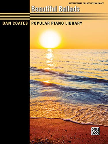 9781470616571: Dan Coates Popular Piano Library -- Beautiful Ballads