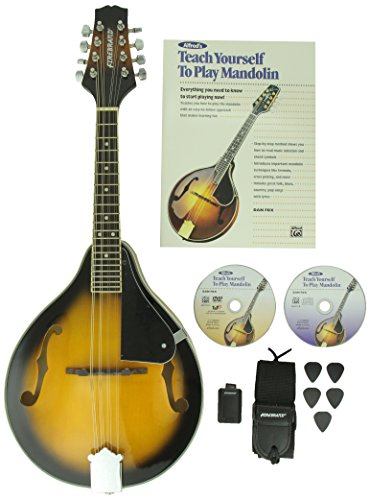 Alfred s Teach Yourself to Play Mandolin Complete Starter Pack: Everything You Need to Know to ...