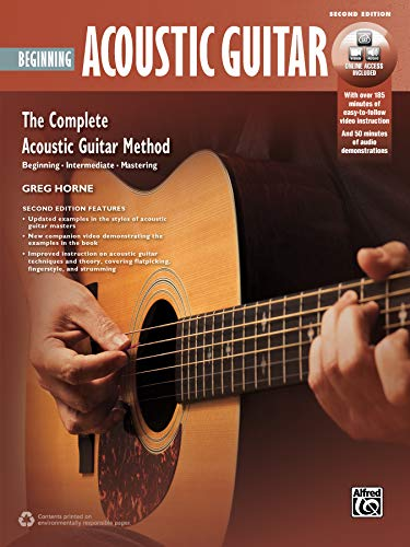 9781470617790: Complete Acoustic Guitar Method: Beginning Acoustic Guitar, Book & DVD (Complete Method)