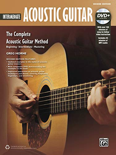 Complete Acoustic Guitar Method: Intermediate Acoustic Guitar, Book & DVD: Greg Horne