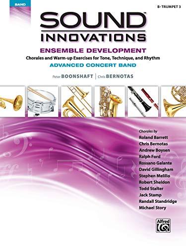 9781470618261: Sound Innovations for Concert Band: Ensemble Development for Advanced Concert Band - B-flat Trumpet 3