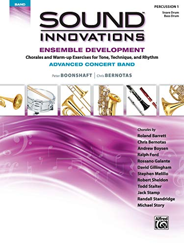 9781470618360: Sound Innovations for Concert Band -- Ensemble Development for Advanced Concert Band: Combined Percussion 1