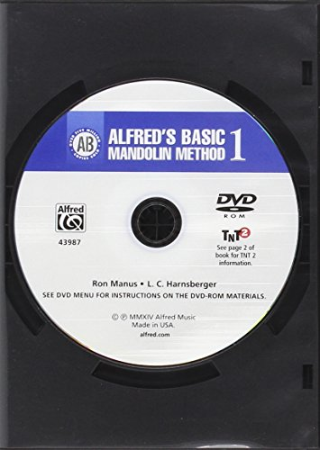 9781470618766: Alfred's Basic Mandolin Method 1: The Most Popular Method for Learning How to Play, DVD (Alfred's Basic Mandolin Library)