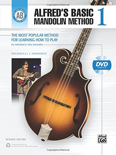 9781470618773: Alfred's Basic Mandolin Method 1: The Most Popular Method for Learning How to Play, Book & DVD (Alfred's Basic Mandolin Library)