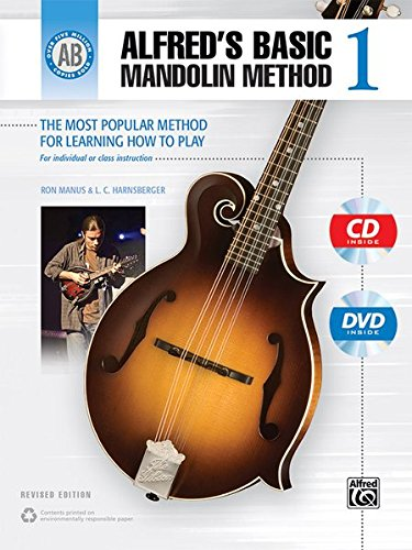 9781470618780: Alfred's Basic Mandolin Method 1: The Most Popular Method for Learning How to Play, Book, CD & DVD (Alfred's Basic Mandolin Library)