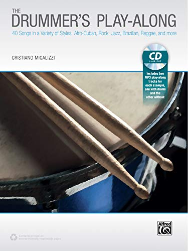 9781470618940: The Drummer's Play-Along: 40 Songs in a Variety of Styles with and without Drums, Book & CD