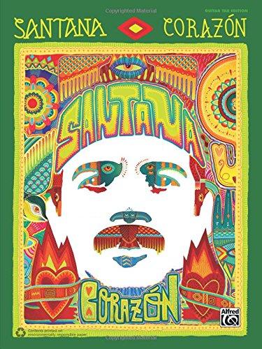 9781470619022: Santana: Corazón: Guitar TAB