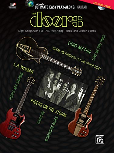 Ultimate Easy Guitar Play-Along -- The Doors: Eight Songs with Full Tab, Play-Along Tracks, and Lesson Videos , Book DVD