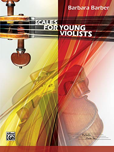 Scales for Young Violists: Barbara Barber